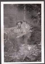 1930 PACIFIC NORTHWEST OREGON WASHINGTON LOGGING LUMBER JACKS AXE SAW OLD PHOTO