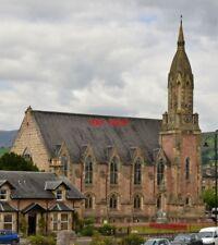 PHOTO  FREE CHURCH OF SCOTLAND DINGWALL BUILT BY JOHN RHIND 1867-70 IN THE GOTHI