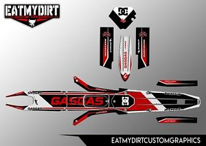 FOR GASGAS TXT PRO 2008-2010 CUSTOM GRAPHICS KIT TRIALS DECALS STICKERS