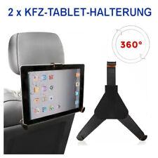 Doppelpack Tablet Halterung Universal Auto 360° iPAD Galaxy E-Reader Kopfstützen