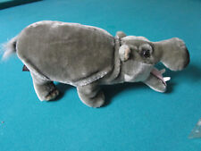 Jungle Joe's Safari Friends HAPPY THE HIPPO Plush TALKING Plush Stuffed Animal