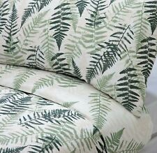 Sainsburys British countryside Green Fern KING SIZE Duvet Cover Set Bed Linen