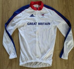 Adidas Team GB Beijing 2008 Cycling Jersey Long Sleeved Olympics Small