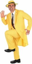 "Yellow 80s ""The Mask"" Style Suit Adult Male Size Large"