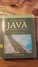 Introduction to Java Programming by Y. Daniel Liang (2008, Paperback)
