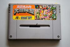 Jeu SUPER ADVENTURE ISLAND pour Nintendo Super FAMICOM (Jap)