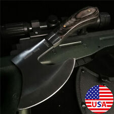 """8.66""""SURVIVAL TOMAHAWK THROWING AXE Combat Tactical Hunting Hatchet Hex Hole  Ax"""