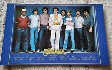Santana 1970's 1980's promo postcard double sided classic lineup