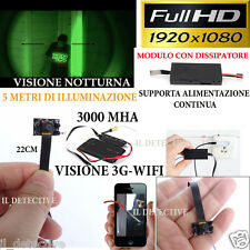 Spy Camera Spia WIFI TELECAMERA MICRO NASCOSTA MICROCAMERA