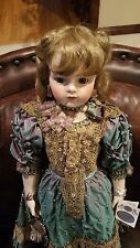 "Patricia Loveless Doll 30"" Victorian Romance Porcelain Bru Jne"