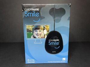 XRITE COLORMUNKI SMILE MONITOR CALIBRATION