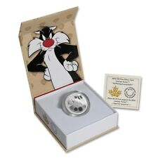 2015 Canada 1/2 oz Silver $10 Looney Tunes - Sylvester the Cat