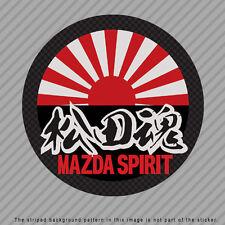 MAZDA Spirit Japanese Kanji Vinyl Decal Sticker JDM RX-7 FD3S FC3S  P049_03