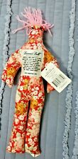 Dammit Doll Red Pink Floral 13 Inches Tall Novelty Stress Gift
