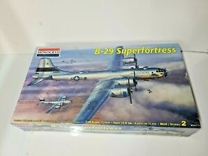 "Monogram B-29 Superfortress 1:48 scale (53"" wingspan) Bomber Aircraft Model *New"