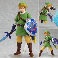 "Figma 153 ""Link"" Legend of Zelda Skyward Sword Action Figure Figurine Toy"