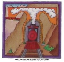 """phish alPHabet MAGNETS 2""""x2"""" letter T for trainsong  ( by KERRIGAN )"""