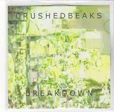 (DL206) Crushed Beaks, Breakdown - DJ CD