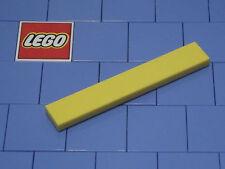 Lego 6636 1x6 Yellow Tile X 3 NEW
