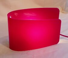 Sompex 'Wave' Funky Retro Table Lamp Pink Acrylic Shade