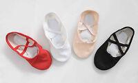 Ballet Shoes Canvas Children's & Adults Sizes