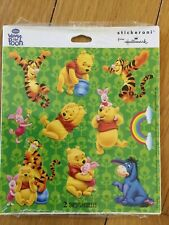 Vintage Hallmark Stickeroni 2 Disney Winnie The Pooh Sticker Sheets New In Packa