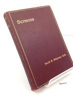 1902 Sermons by Rev. Jacob S. Shipman New York Rector of Christ Church HC