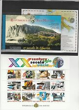 Stamps 2000 San Marino Year including Sheetlets and Booklet MNH Z/6144