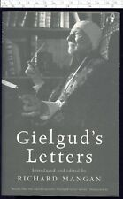 Sir John GIELGUD'S LETTERS introduced and edited by Richard Mangan