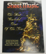 Sheet Music Magazine Rudolph The Red Nosed Reindeer December 1997 012615R