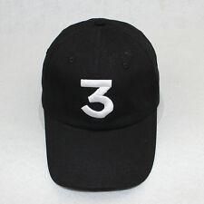 New Chance 3 The Rapper  Hat Cap Black - Adjustable Strapback