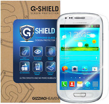 G-Shield® Vitre Film Protection en Verre Trempé d'écran Samsung Galaxy S3 Mini