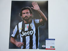 ANDREA PIRLO SIGNED 11X14 PHOTO PSA/DNA COA AC51882 JUVENTUS F.C. SOCCER ITALY