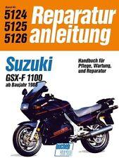 Book Repair Manual Suzuki Gsx-F 1100 from Year 1988 Band 5124/5125/5126