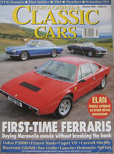 Classic Cars 10/1996 featuring ISO,Maserati, TVR, Ferrari, Lotus,Panther,Triumph
