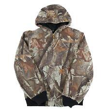 CARHARTT Hooded Chore Jacket | Men's S | Camo Coat Hoodie Hood Work Vintage