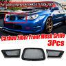 For Subaru Impreza WRX STi 9th 06-07 REAL Carbon Fiber Front Mesh Grill