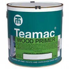 TEAMAC WOOD PRIMER - WHITE  - 1 LITRE