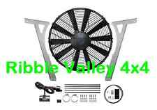 "Da8970p Range Rover p38 Revotec 15.2"" ELECTRIC FAN ad alta potenza kit di conversione Pet"