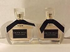 Lot Of 2 Faith Hill EDP Perfume Spray For Women - 1 oz each