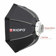 Triopo Portable 90cm Photo Outdoor Bowens Mount Octagon Umbrella Soft Box