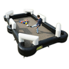 Inflatable Table Football Fields Pool Pitch 16 Balls Billiards 16*9.5ft