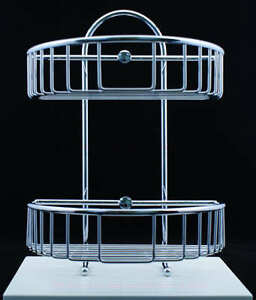 Ultra High Grade Stainless Steel Bathroom Caddy NO RUST