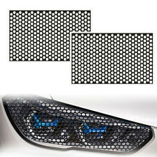 2x Car Rear Diy Tail Light Cover Black Honeycomb Sticker Lamp Decal Accessories Fits 2002 Mitsubishi Eclipse