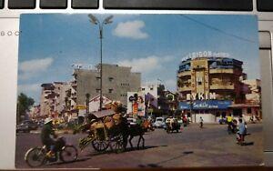 Vietnamese Transportation Saigon Hotel Vintage Postcard color photo Mike Roberts