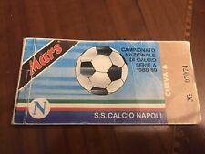 Abbonamento Calcio Napoli 1988-1989