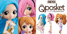 BANPRESTO ONE PIECE Q POSKET PETIT VOL.1 PVC FIUGRE VIVI & REIJU & PUDDING SET