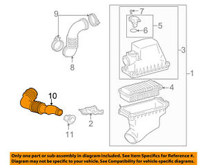 17751-21040 Toyota Inlet, air cleaner, no.1 1775121040