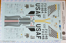 Microscale Decal #AC48-0059 F-86E 39th FISq RF-86-A Project Ashtray 15th TRSq