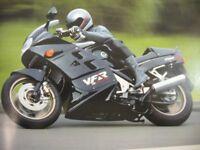 1988 1989 Honda Motorcycle VFR750F Brochure E Type Xlnt Original RC24